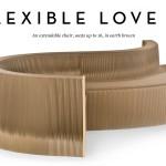 Flexilove Foldout Cardboard Flexible Sofa!